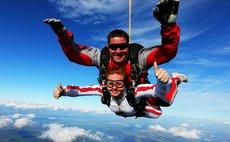 Прыжок с парашютом, прыжок в тандеме ростов