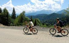 велосипедные маршруты в горах лагонаки краснодар