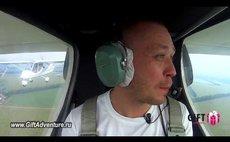 Embedded thumbnail for Обучающий полет на сверхлегком самолете Бекас Х32
