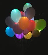 светящиеся шарики краснодар
