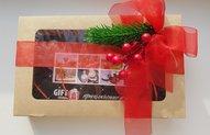 новогодняя упаковка подарочного сертификата