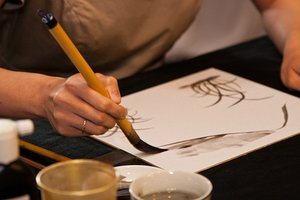 Чайная церемония с живописью У-син