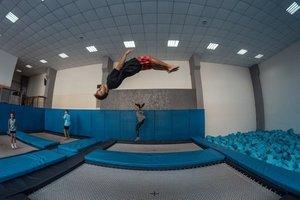 прыжки на батутах краснодар