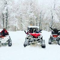 снегоходы красная поляна