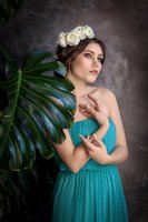 цветочная фотосессия краснодар