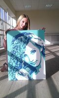 портрет в стиле поп-арт краснодар